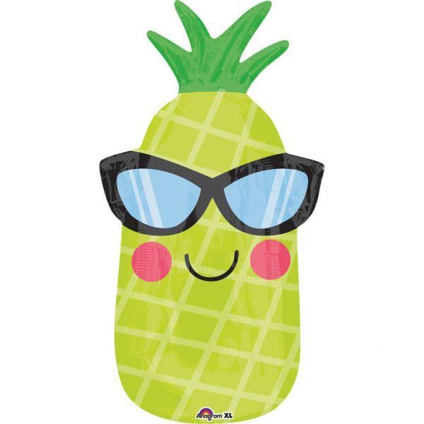 Imagen de Globo piña con gafas
