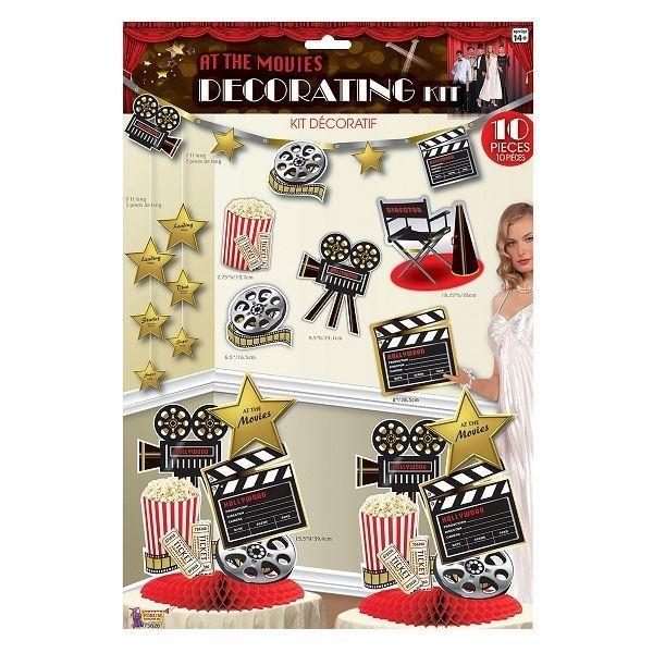 Imagen de Set decoración Hollywood Cine (10)