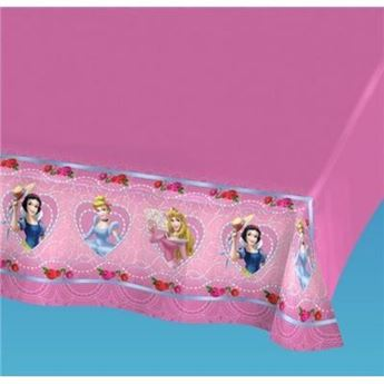 Imagen de Mantel Princesas Disney rosa