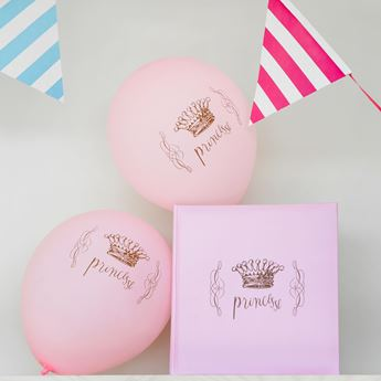 Picture of Globos princesa rosa (8)