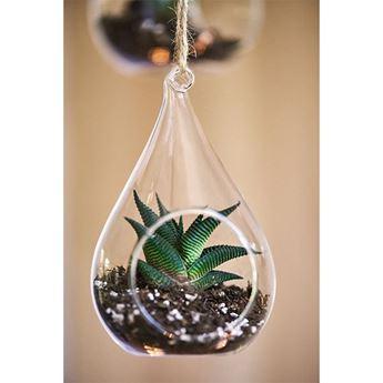 Imagen de Gota cristal colgante 12cm
