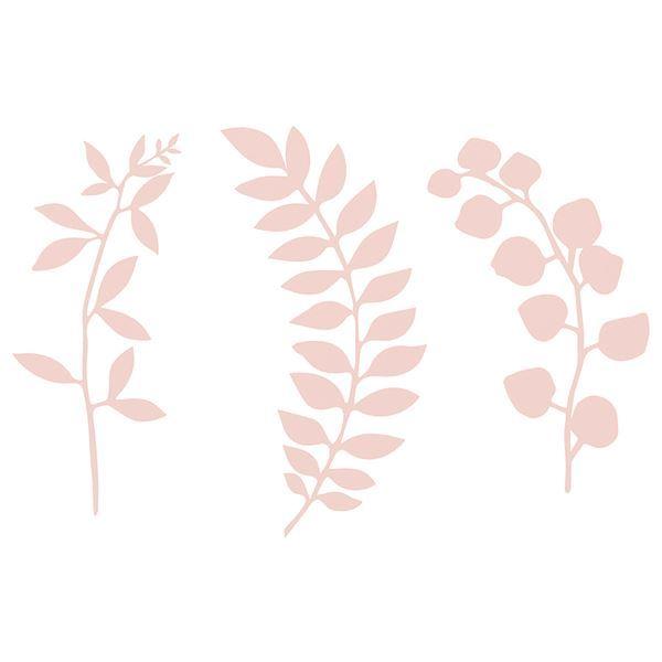 Picture of Ramas decoración papel rosa pastel (9)