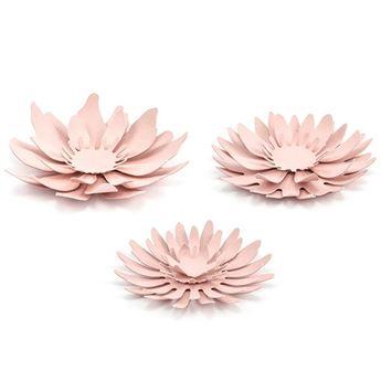 Imagen de Flores papel rosa pastel (3)