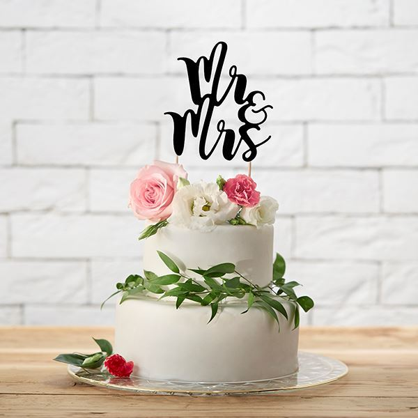 Picture of Topper tarta Mr and Mrs