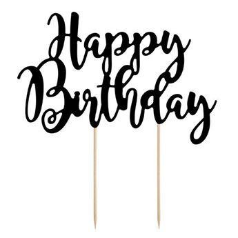Imagens de Topper tarta feliz cumpleaños