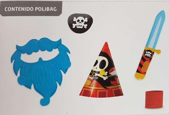 Imagens de Cotillón pirata infantil