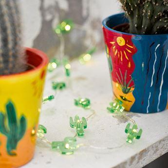 Imagens de Guirnalda con luz cactus 3mts