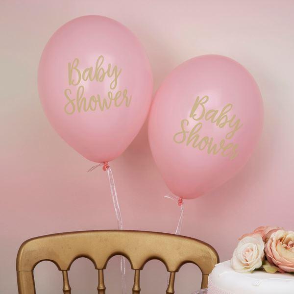 Imagens de Globos baby shower rosa (8)