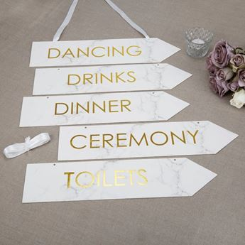 Picture of Carteles blancos boda  (5)