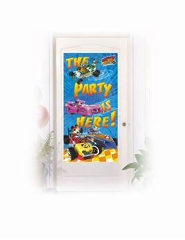 Imagen de Decoración puerta Mickey y los Super Pilotos