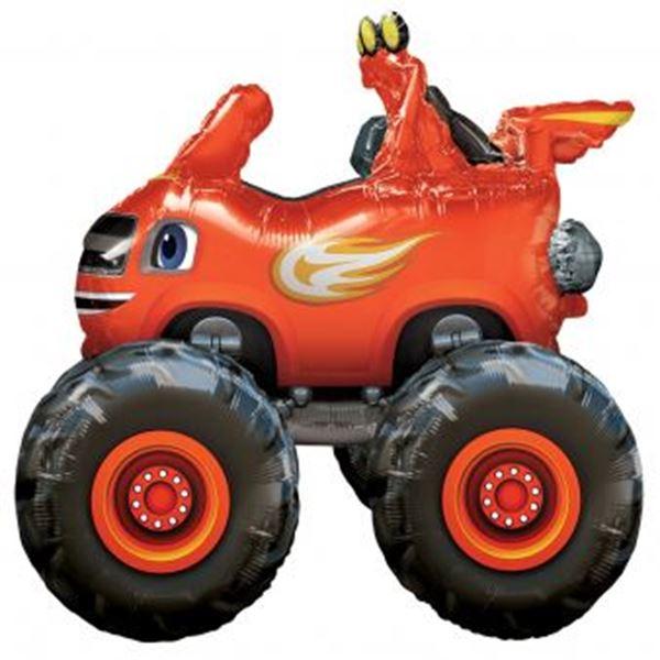 Imagen de Globo andante Blaze y los Monster Machines
