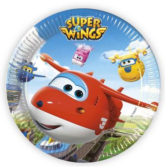 Picture of Platos Super Wings grandes (8)