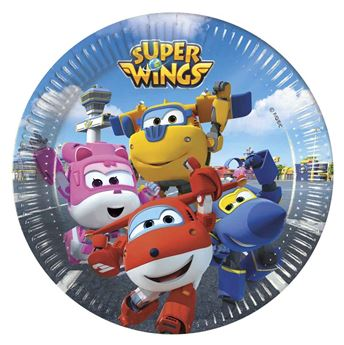 Picture of Platos Super Wings pequeños (8)