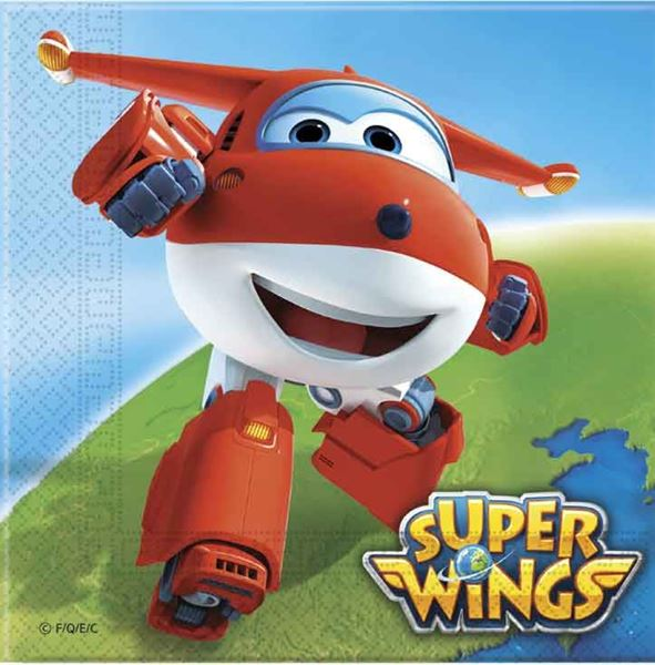 Picture of Servilletas Super Wings (20)