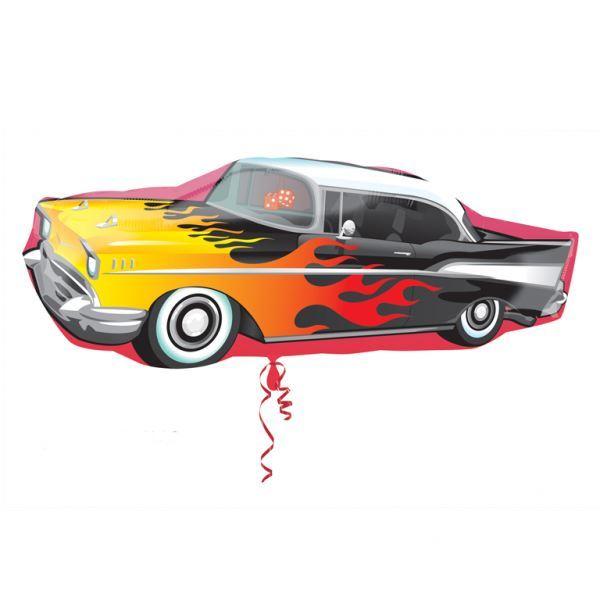 Picture of Globo coche años 50 grande