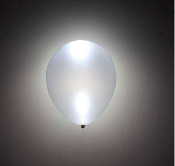 Imagens de Globos plata con luz (5)
