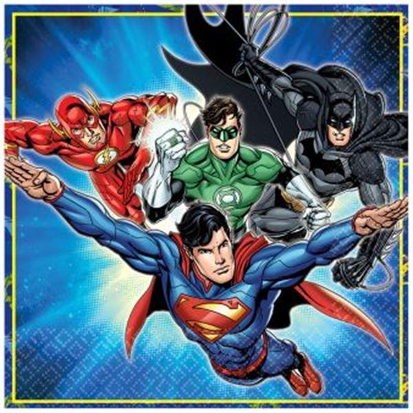 Imagens de Servilletas Liga de la Justicia (16)