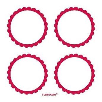 Imagen de Etiquetas adhesivas rojas (20)