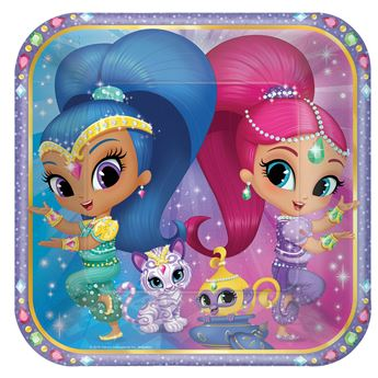 Picture of Platos Shimmer y Shine grandes (8)