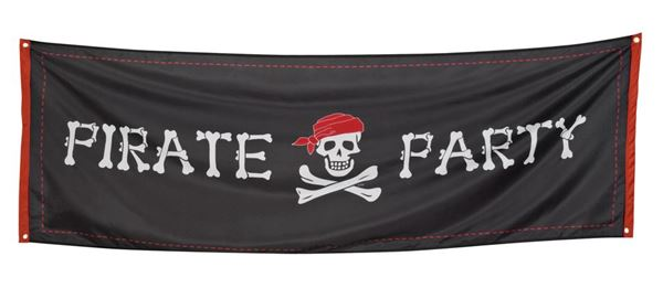 Picture of Bandera Gigante Pirata