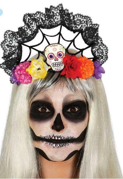 Imagens de Diadema Día de los Muertos flores