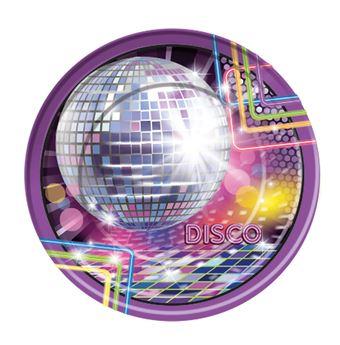 Imagen de Platos Fiesta Disco grandes (8)
