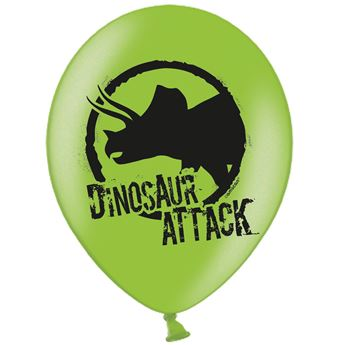 Imagen de Globos dinosaurio verdes (6)