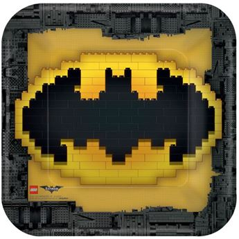 Picture of Platos LEGO Batman grandes (8)