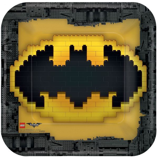 Picture of Platos LEGO Batman grandes (8)