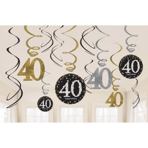 Imagen de Decorados espirales 40 años elegante (12)