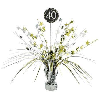 Imagen de Centro de mesa 40 años elegante