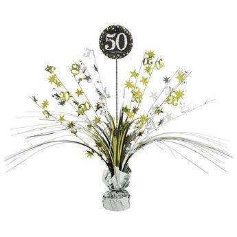 Imagen de Centro de mesa 50 años elegante