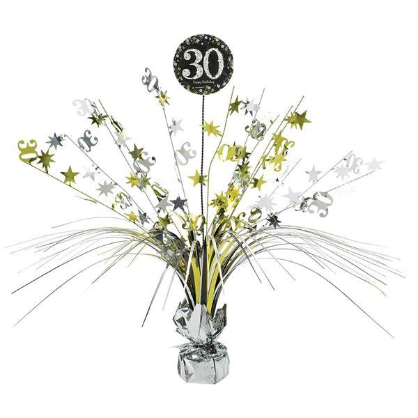 Imagen de Centro de mesa 30 años elegante