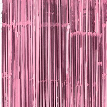 Imagen de Cortina Rosa claro brillante