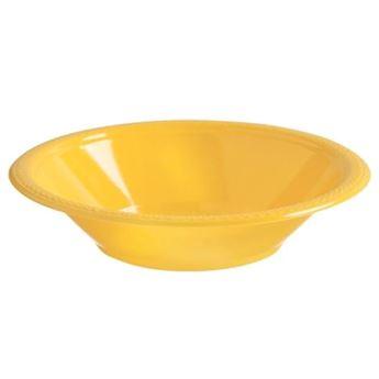 Imagen de Boles amarillo plástico (10)