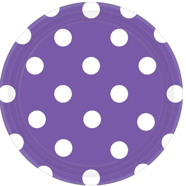 Picture of Platos lunares morado (8)