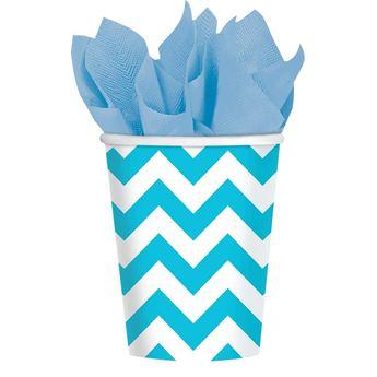 Imagens de Vasos chevron azul caribe (8)
