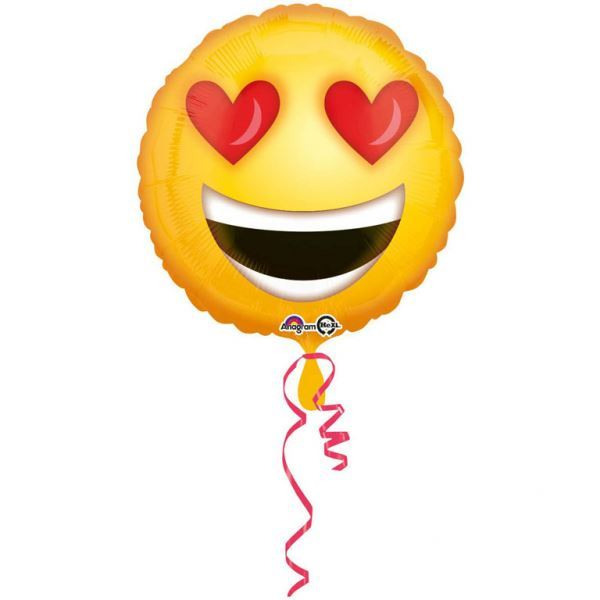 Imagen de Globo Emoji Amoroso