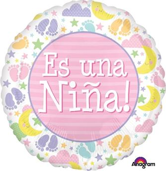 "Picture of Globo ""Es una niña"""