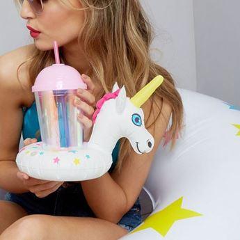 Imagen de Posavasos unicornio hinchable (2)