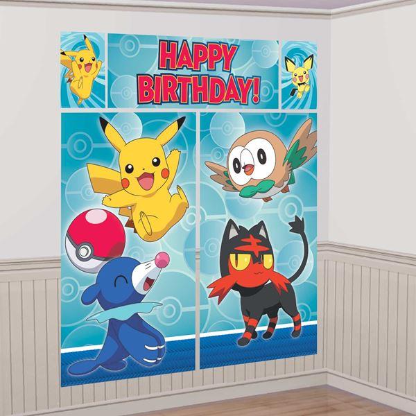 Imagen de Fondo Photocall Pokémon (5)