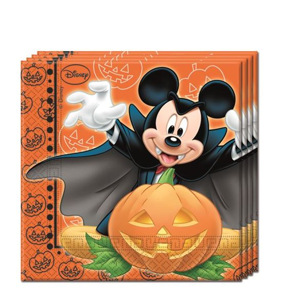 Picture of Servilletas Mickey Halloween (20)
