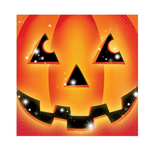 Picture of Servilletas Calabaza Halloween (16)