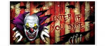Imagen de Decorado pared carnaval espeluznante