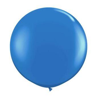 Imagen de Globos azules 90cm (1)
