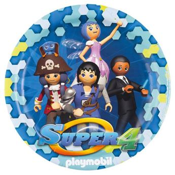 Picture of Platos Playmobil super 4 grandes (8)