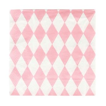 Picture of Servilletas diamante rosa pastel (20)