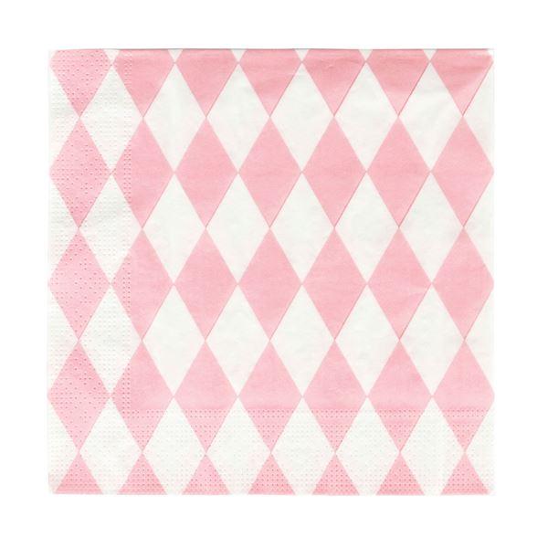 Picture of Servilletas diamante rosa pastel (20)