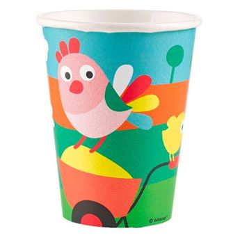 Imagen de Vasos animales granja (8)