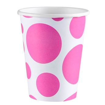 Picture of Vasos burbujas rosa (8)